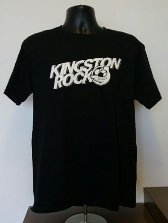 Kingston Rock T-Shirt - Black- Various Sizes